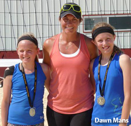 2013 Misty May With Medal Winners