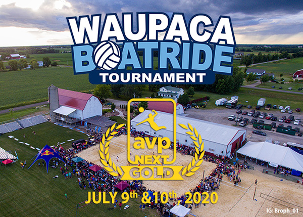 Waupaca Boatride - 2020 AVP Gold Next