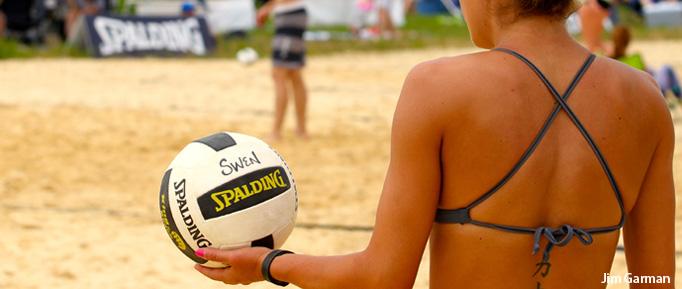 Waupaca Boatride Volleyball Tournament - Sand Server 2014