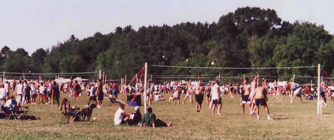 Waupaca Boatride Volleyball Tournament - Driving Range 2000
